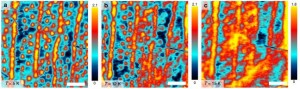 Attractive interaction between superconducting vortices in tilted magnetic fields