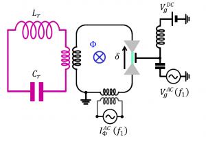 Circuit-QED with phase-biased Josephson weak links