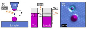 Dynamical Coulomb Blockade as a Local Probe for Quantum Transport
