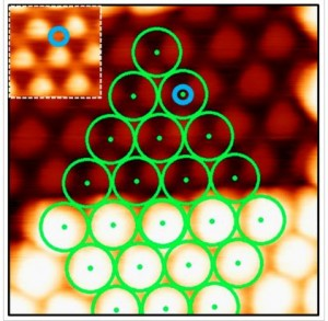 Nanowriting with Clusters on Graphene on Ru(0001)
