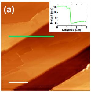 Observation of a gel